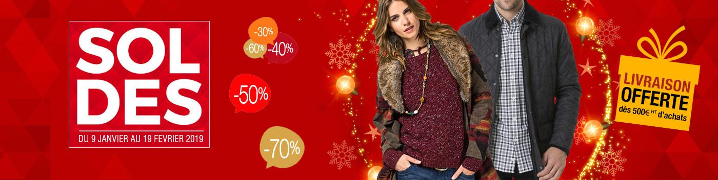 Arrivage vêtements et accessoires automne-hiver 2018